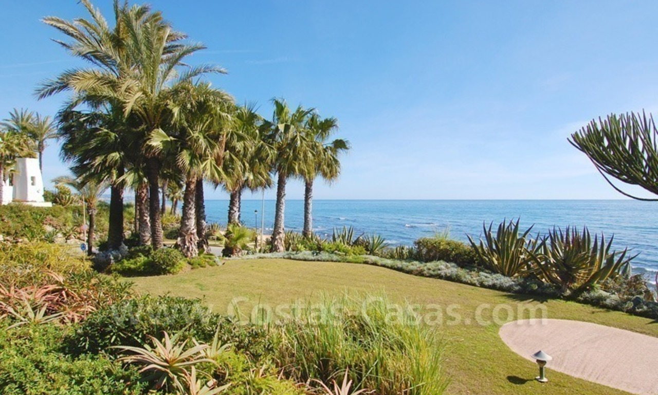 Spacious luxury apartment for sale on a frontline beach complex in Puente Romano, Golden Mile – Marbella 15