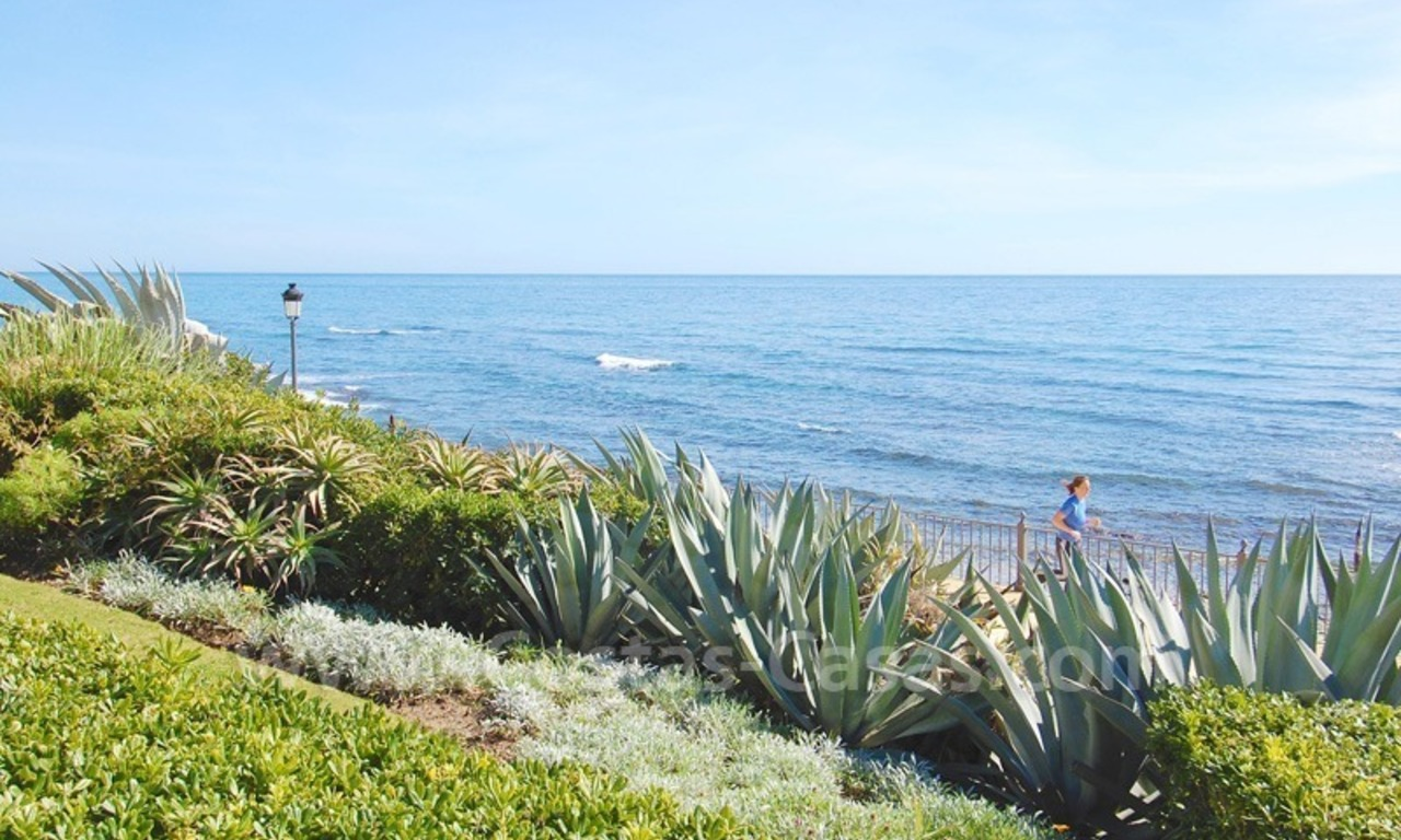 Spacious luxury apartment for sale on a frontline beach complex in Puente Romano, Golden Mile – Marbella 18