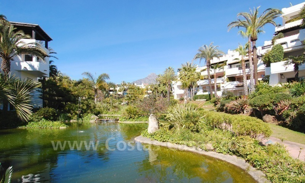Spacious luxury apartment for sale on a frontline beach complex in Puente Romano, Golden Mile – Marbella 19