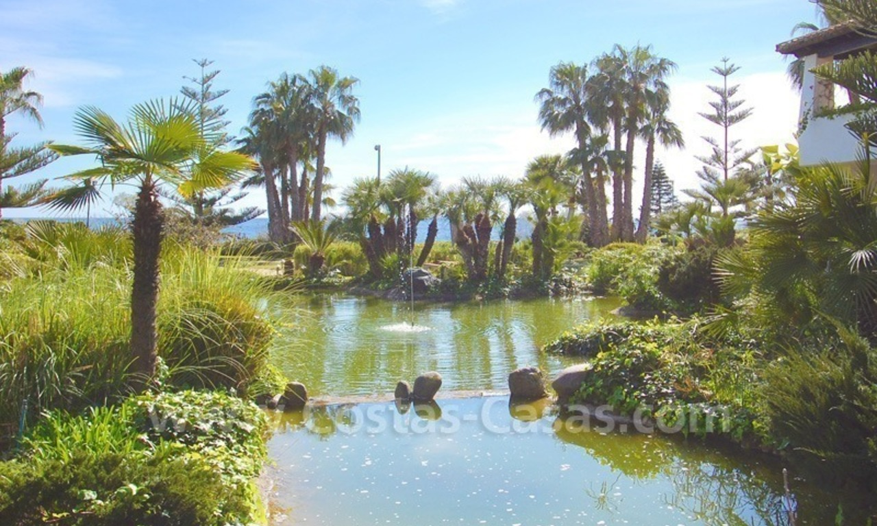 Spacious luxury apartment for sale on a frontline beach complex in Puente Romano, Golden Mile – Marbella 20