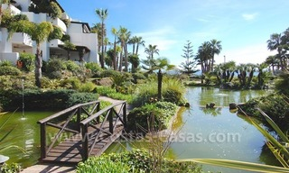 Spacious luxury apartment for sale on a frontline beach complex in Puente Romano, Golden Mile – Marbella 21