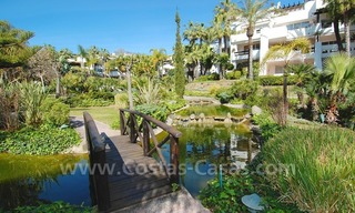Spacious luxury apartment for sale on a frontline beach complex in Puente Romano, Golden Mile – Marbella 22