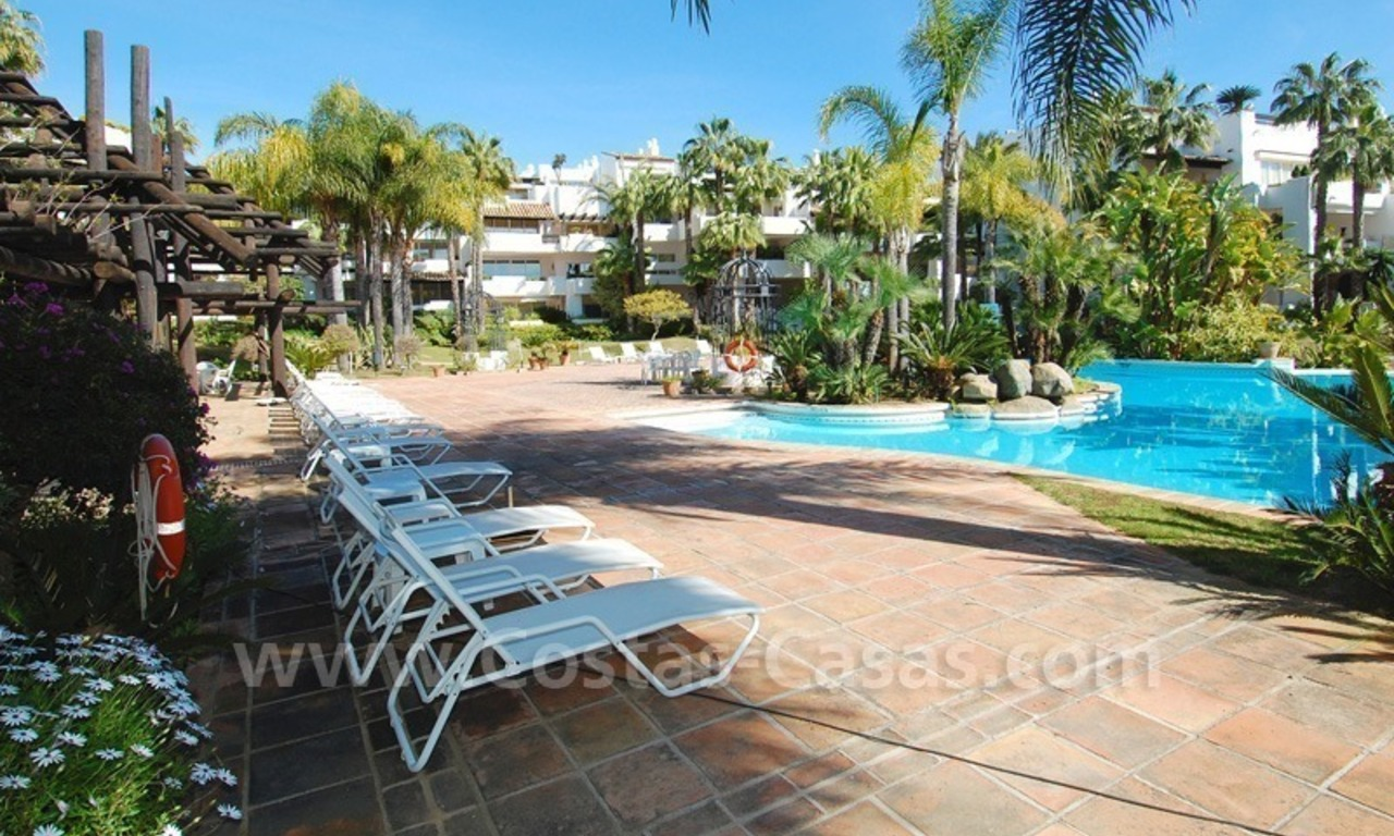 Spacious luxury apartment for sale on a frontline beach complex in Puente Romano, Golden Mile – Marbella 26
