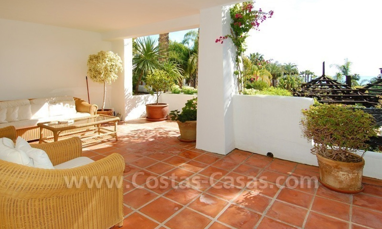 Spacious luxury apartment for sale on a frontline beach complex in Puente Romano, Golden Mile – Marbella 4