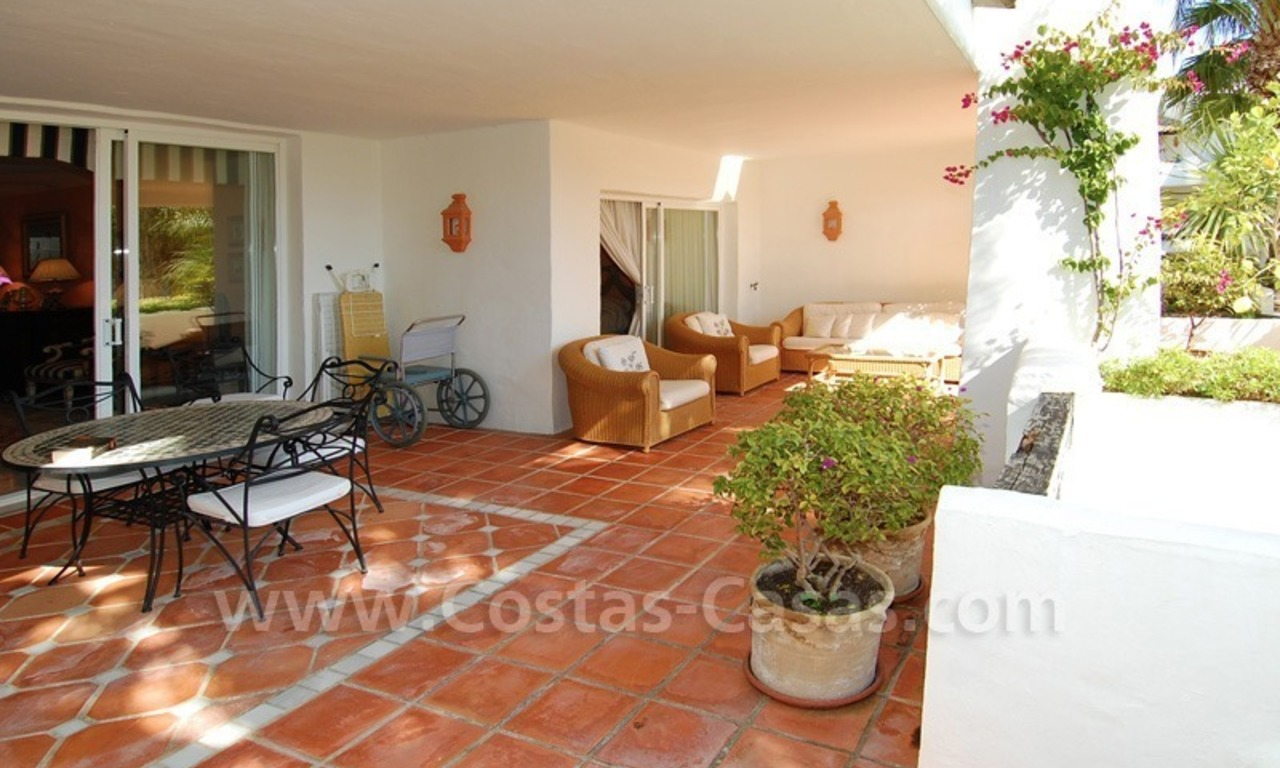 Spacious luxury apartment for sale on a frontline beach complex in Puente Romano, Golden Mile – Marbella 6