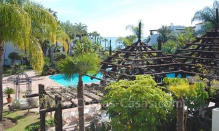 Spacious luxury apartment for sale on a frontline beach complex in Puente Romano, Golden Mile – Marbella 1