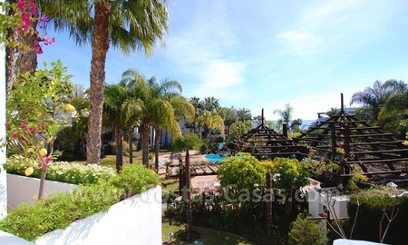 Spacious luxury apartment for sale on a frontline beach complex in Puente Romano, Golden Mile – Marbella 3