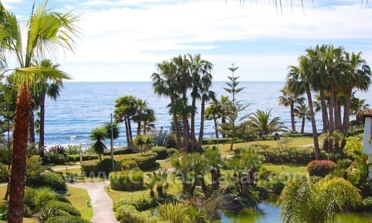 Spacious luxury apartment for sale on the beachfront complex in Puente Romano, Golden Mile – Marbella 0
