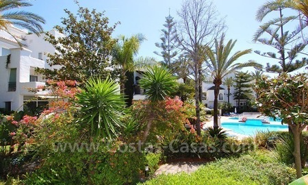 Spacious duplex penthouse apartment to buy on the beachfront complex in Marbella on the Golden Mile 16