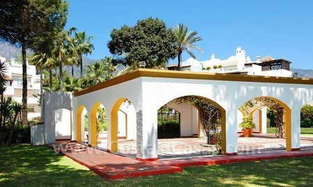 Spacious duplex penthouse apartment to buy on the beachfront complex in Marbella on the Golden Mile 6