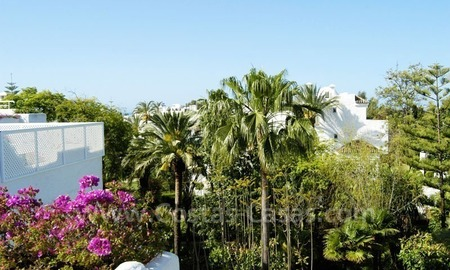 Spacious duplex penthouse apartment to buy on the beachfront complex in Marbella on the Golden Mile 19