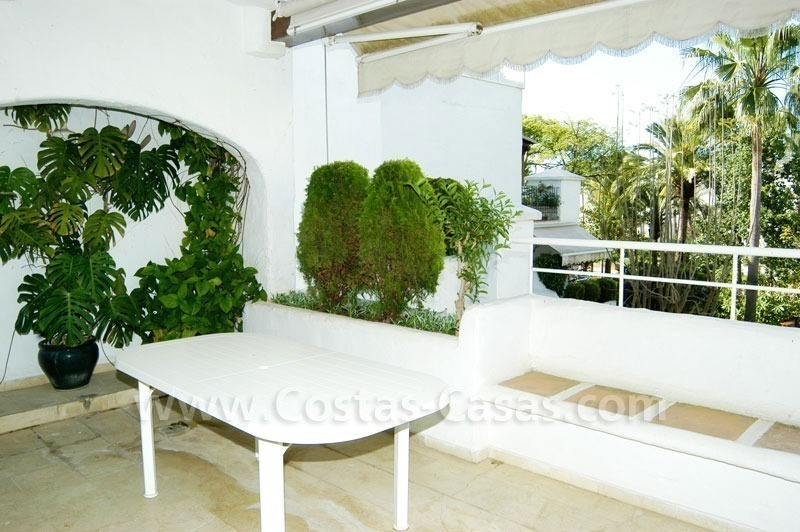 Spacious duplex penthouse apartment to buy on the beachfront complex in Marbella on the Golden Mile 20