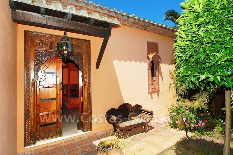 Luxury classical style villa to buy in Sierra Blanca, Marbella 26