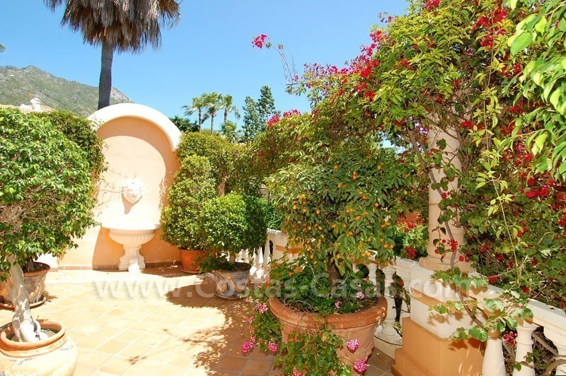 Luxury classical style villa to buy in Sierra Blanca, Marbella 7