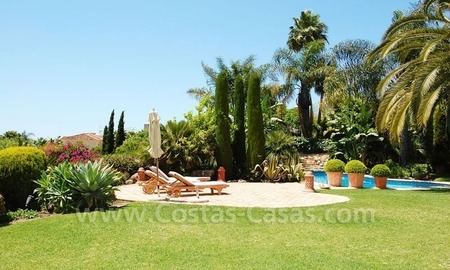 Luxury classical style villa to buy in Sierra Blanca, Marbella 3
