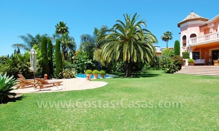 Luxury classical style villa to buy in Sierra Blanca, Marbella 2