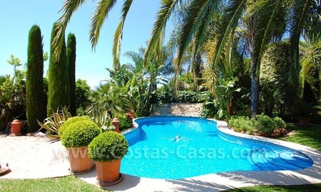 Luxury classical style villa to buy in Sierra Blanca, Marbella 5