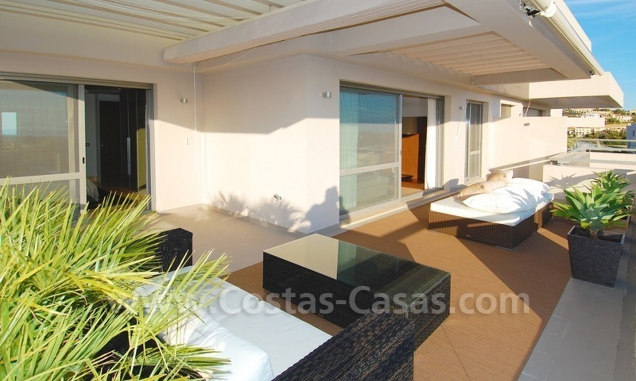 Modern luxury golf penthouse for sale, Marbella - Benahavis 2