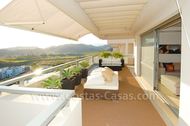 Modern luxury golf penthouse for sale, Marbella - Benahavis