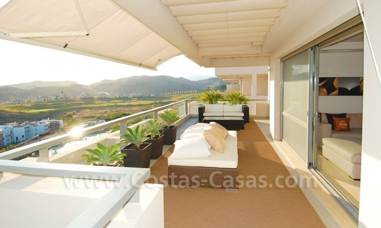 Modern luxury golf penthouse for sale, Marbella - Benahavis 0
