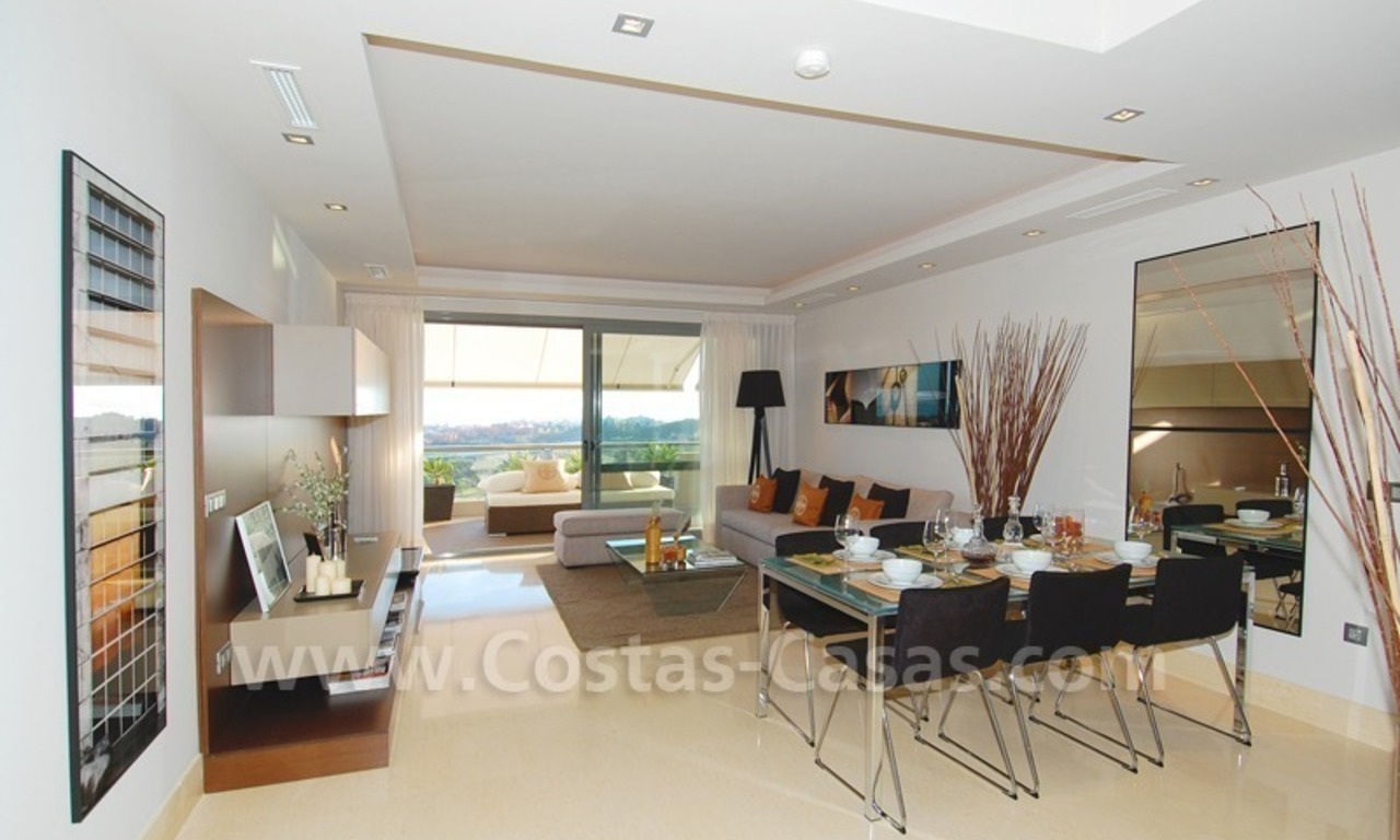 Modern luxury golf penthouse for sale, Marbella - Benahavis 12