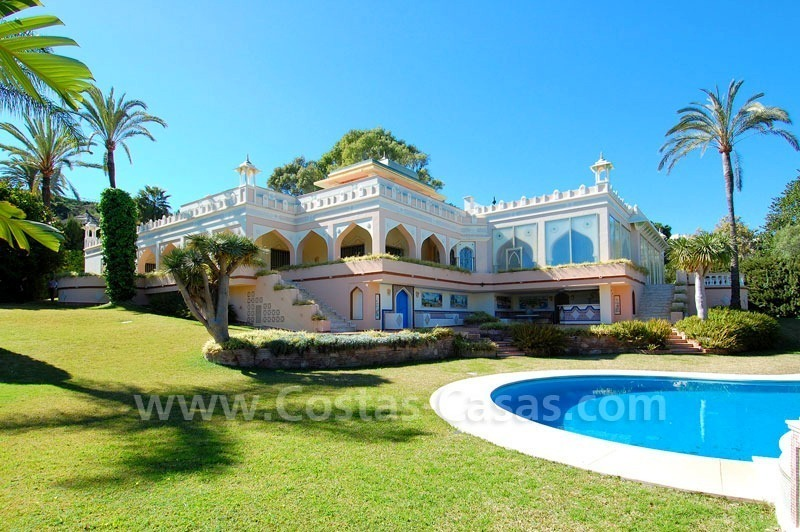 Unique Palatial estate for sale in Nueva Andalucía – Marbella