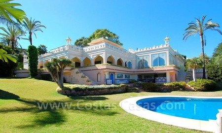 Unique Palatial estate for sale in Nueva Andalucía – Marbella 0