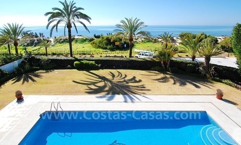 Beachfront exclusive villa for sale in East of Marbella