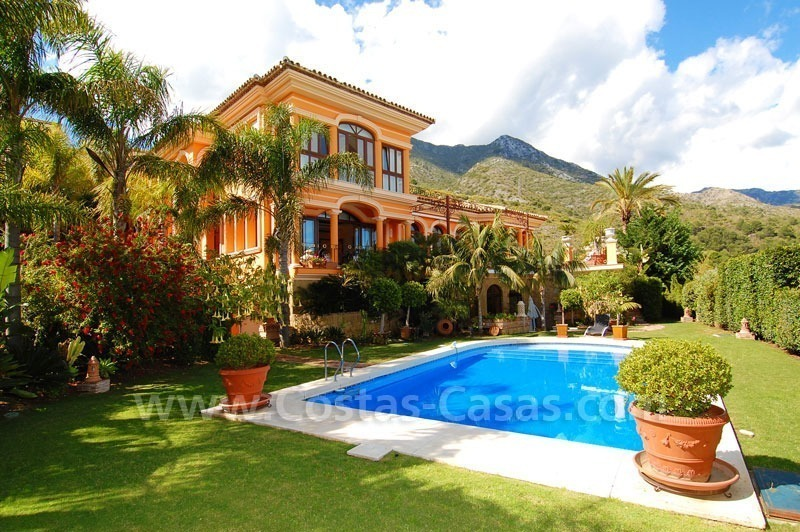Luxury villa for sale in Sierra Blanca - Golden Mile - Marbella
