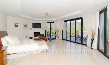 Contemporary villa for sale on front line golf, Benahavis – Marbella  17