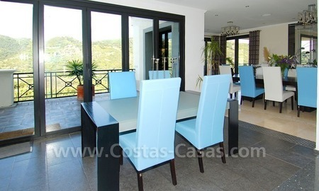 Contemporary villa for sale on front line golf, Benahavis – Marbella  12