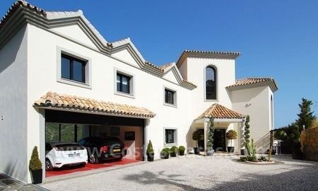 Contemporary villa for sale on front line golf, Benahavis – Marbella  8