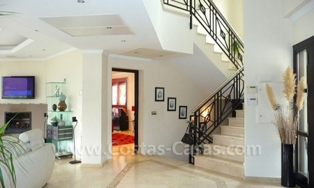 Contemporary villa for sale on front line golf, Benahavis – Marbella  9