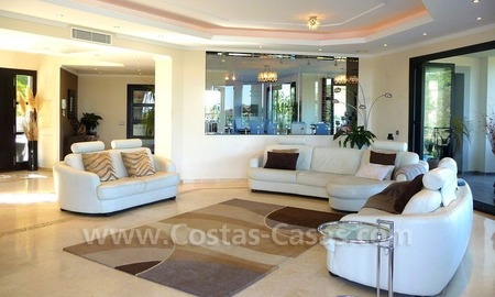 Contemporary villa for sale on front line golf, Benahavis – Marbella  10
