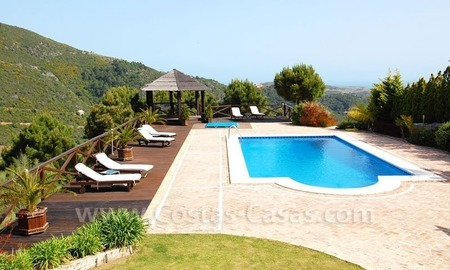 Contemporary villa for sale on front line golf, Benahavis – Marbella  2