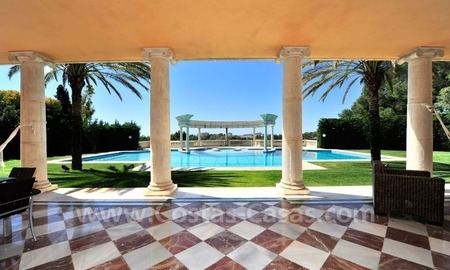 Unique Palladian style mansion for sale in Marbella 22