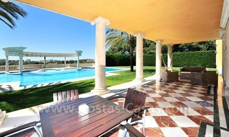 Unique Palladian style mansion for sale in Marbella 23