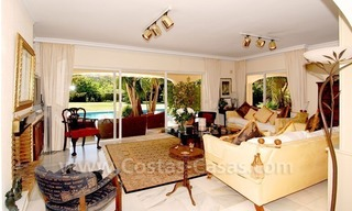 Charming andalusian styled villa for sale on first line golf in Nueva Andalucía, Marbella 14