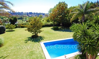 Charming andalusian styled villa for sale on first line golf in Nueva Andalucía, Marbella 24