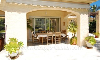Charming andalusian styled villa for sale on first line golf in Nueva Andalucía, Marbella 7