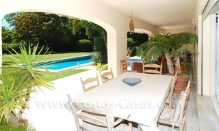 Charming andalusian styled villa for sale on first line golf in Nueva Andalucía, Marbella 8