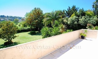 Charming andalusian styled villa for sale on first line golf in Nueva Andalucía, Marbella 22