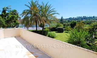 Charming andalusian styled villa for sale on first line golf in Nueva Andalucía, Marbella 21
