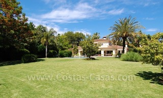 Charming andalusian styled villa for sale on first line golf in Nueva Andalucía, Marbella 1