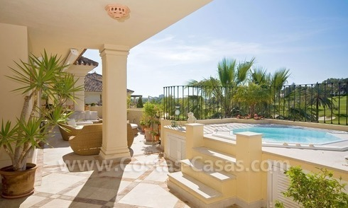 Exclusive penthouse apartment for sale in Nueva Andalucia - Marbella
