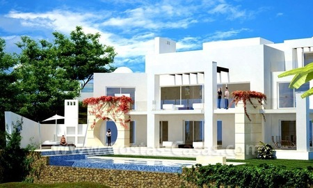 Plot with or without luxury villa for sale in Marbella 0