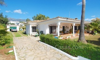 Plot with a detached villa for sale in Marbella town centre 5
