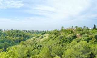 Luxury corner penthouse apartment for sale in Golden Mile – Sierra Blanca - Marbella 1