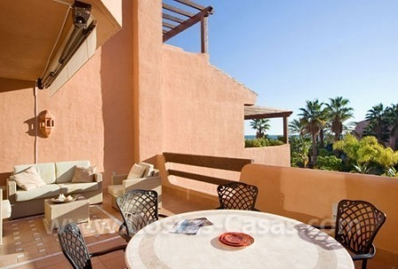 Frontline beach luxury apartment for sale in the area of Marbella - Estepona 1