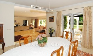 Frontline golf luxury villa for sale in Nueva Andalucia - Marbella 13